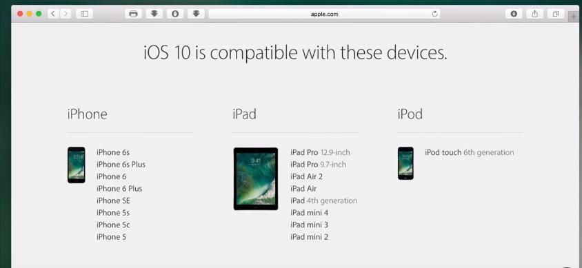 my ipad mini 2 wont get ios 10 - Apple Community