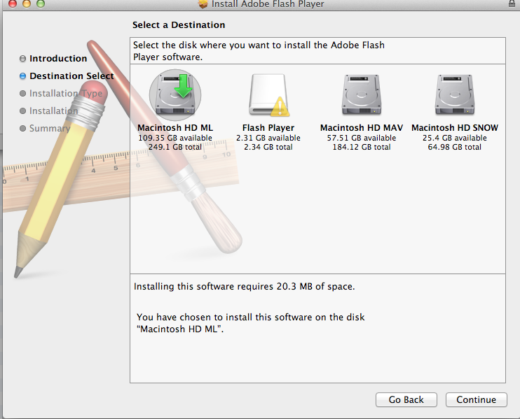 Latest version of Flash Player for 10 6 8? - Apple Community