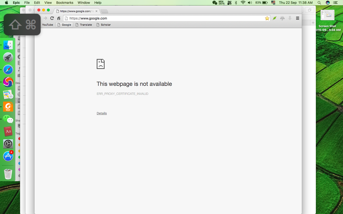 Epic Browser (proxy) is not working on Si… - Apple Community