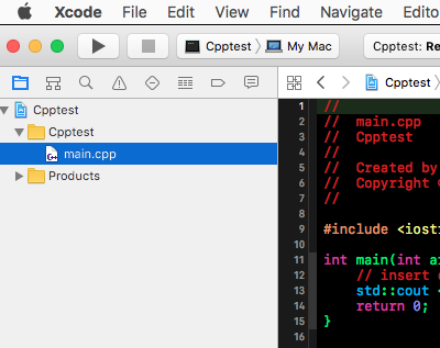 How do I send cpp file from an Xcode proj… - Apple Community