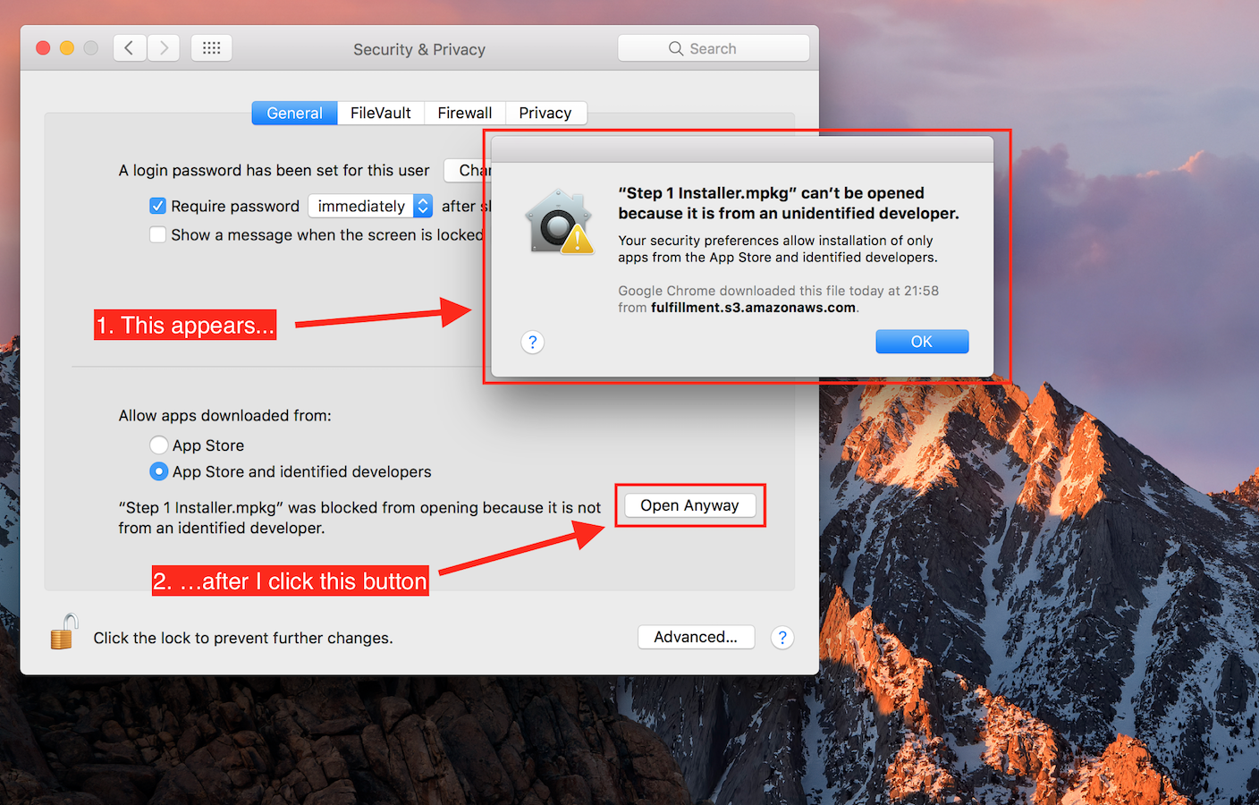 How to open a file from unidentified deve… - Apple Community