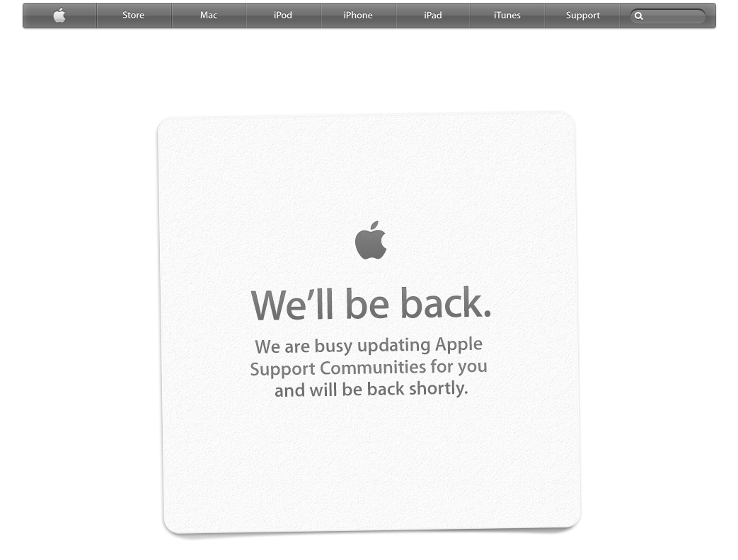 I can't enter Apple comunities with S… - Apple Community