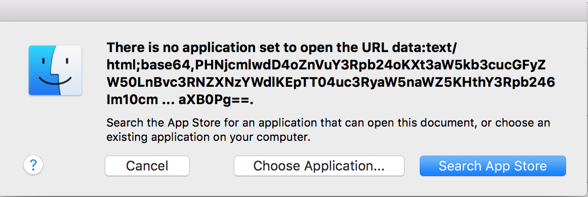 What is this? There is no application set… - Apple Community