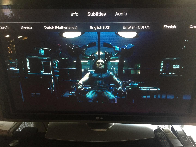 Apple TV Subtitle Problem - Apple Community
