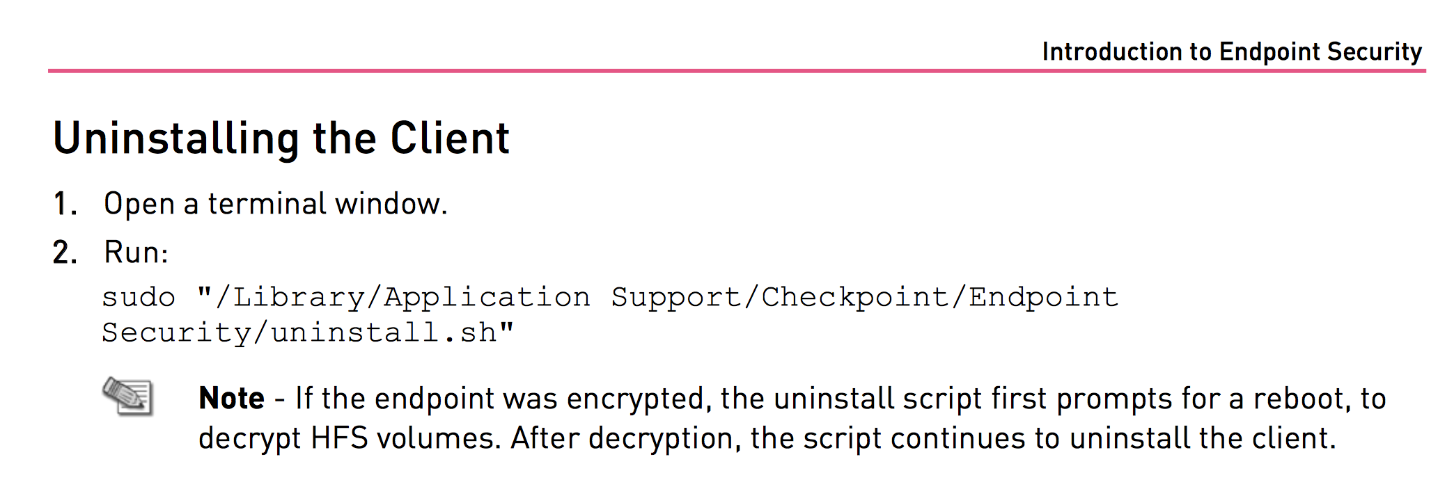 Uninstall Checkpoint Vpn Client Mac Endpoint Security Client for Mac