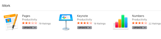 how to update Iwork in El Capitan - Apple Community