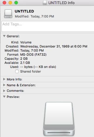 No option to format flashdrive FAT32 - Apple Community