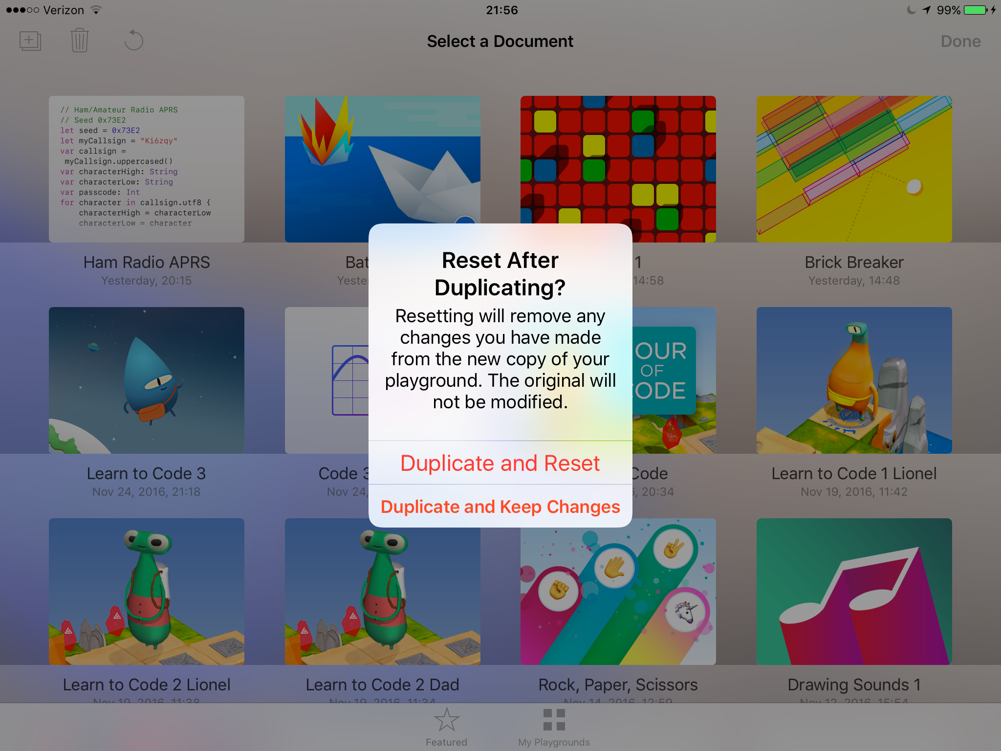 Different users on Swift playgrounds? - Apple Community