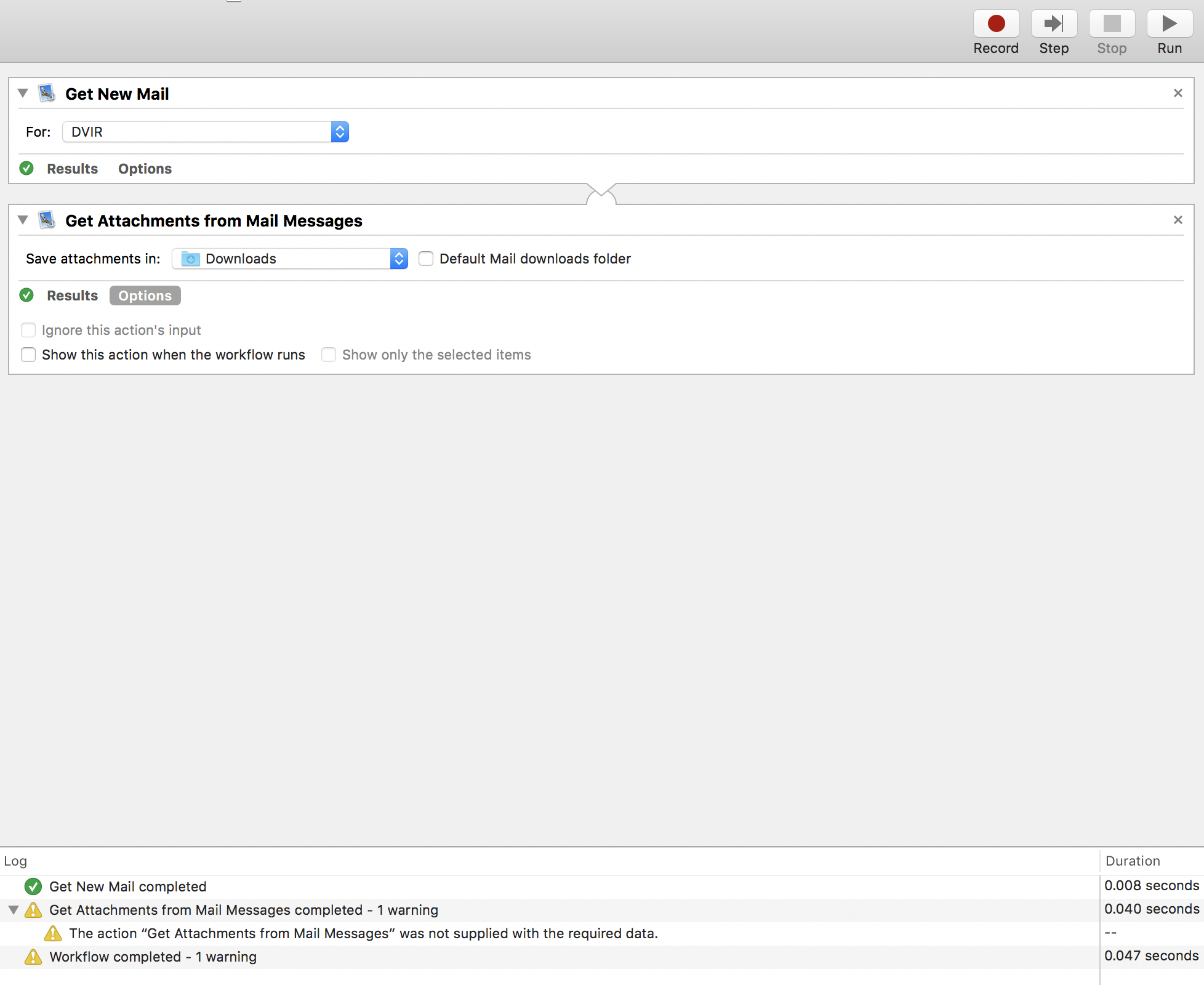 How to Auto Save Email attachment to a fo… - Apple Community