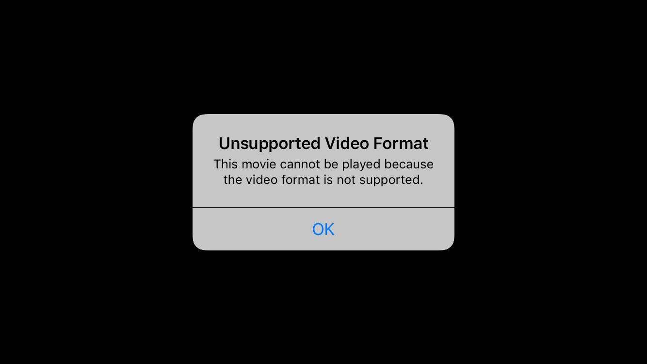 4k video won't playback on iPhone 7 - Apple Community