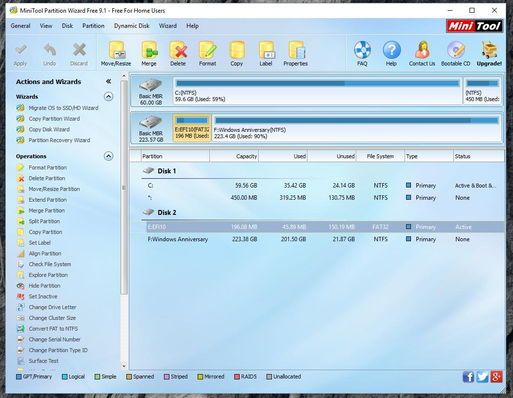 Run Windows 10 from an external SSD disk?… - Apple Community