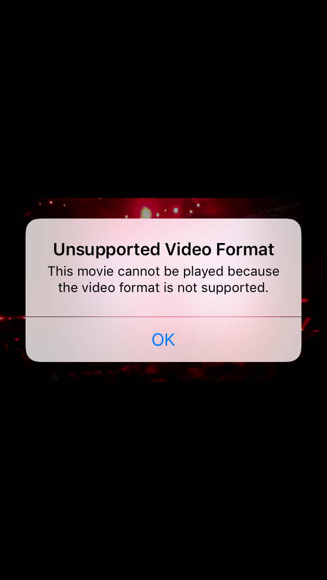 Videos from Move to IOS app not working? - Apple Community