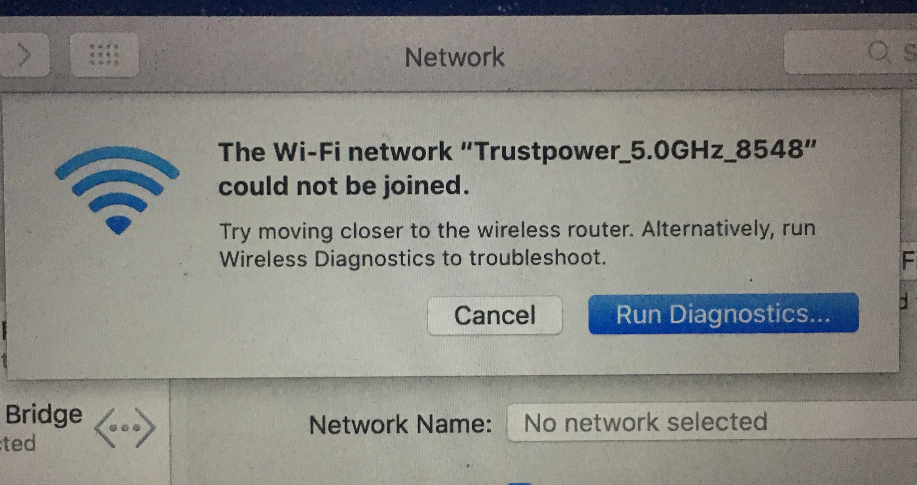 Macbook Pro cannot cannot connect to WiFi… - Apple Community
