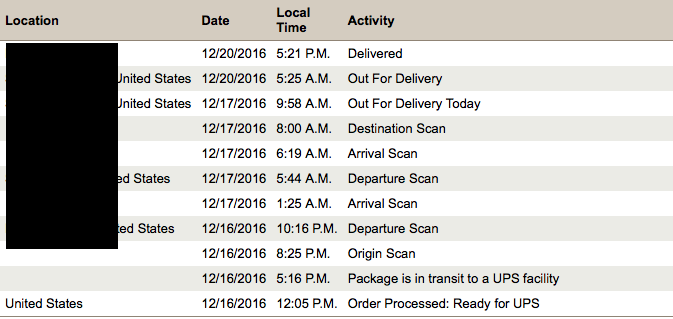 Empty Apple Watch box delivered by UPS - Apple Community