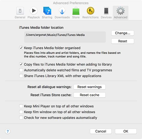 iTunes wants always internet connection  - Apple Community