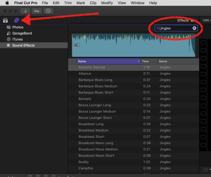 Generic Background Tracks? - Apple Community