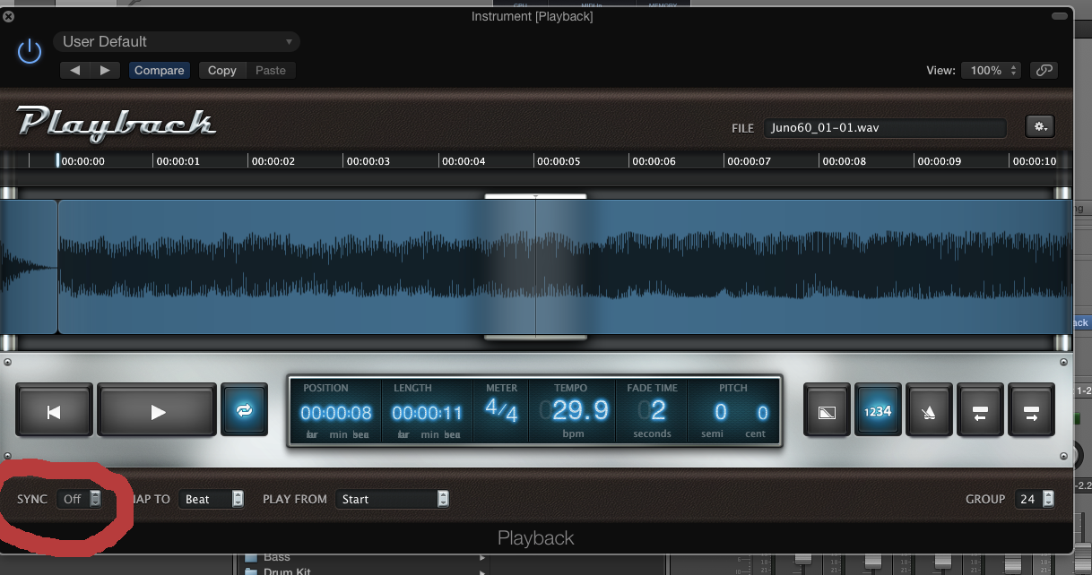 How do I enable Flex Mode in the Playback… - Apple Community