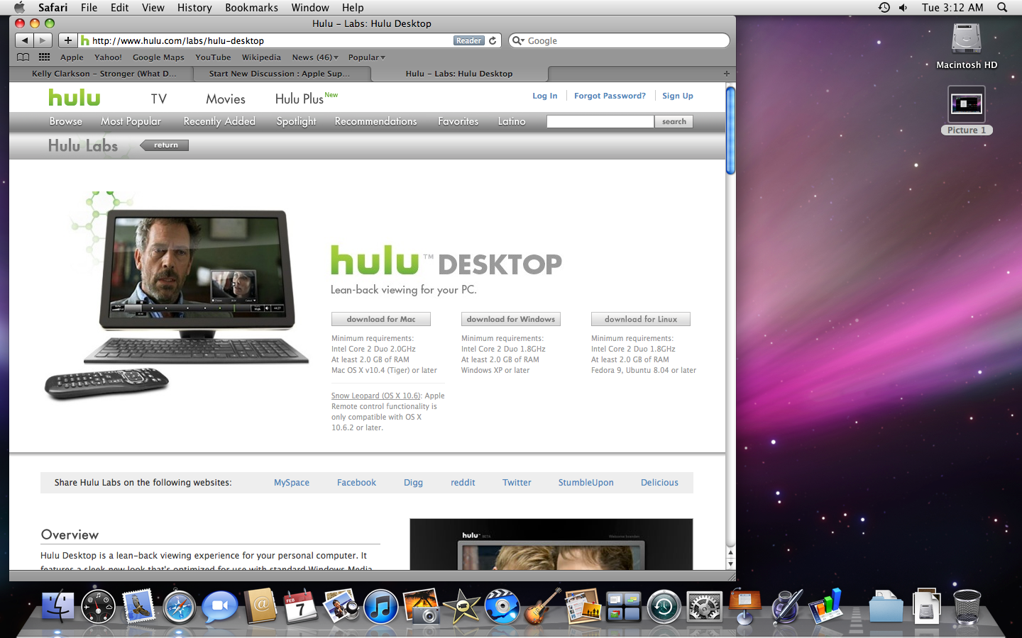Hulu Desktop works on PowerPC, does NOT r… - Apple Community