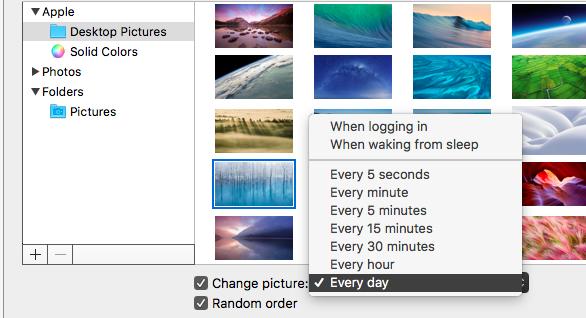 mac desktop background reverts to default