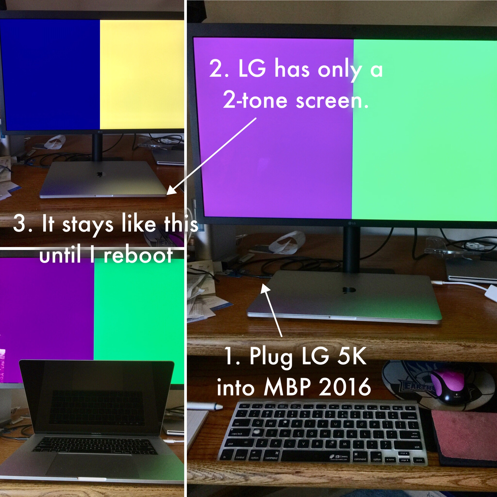 Problems with LG 27