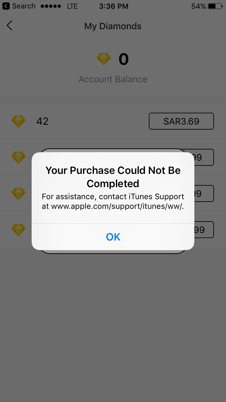 I can't purchase from iTunes - Apple Community