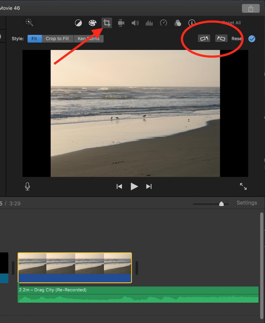 Edit vertical videos in iMovie - Apple Community