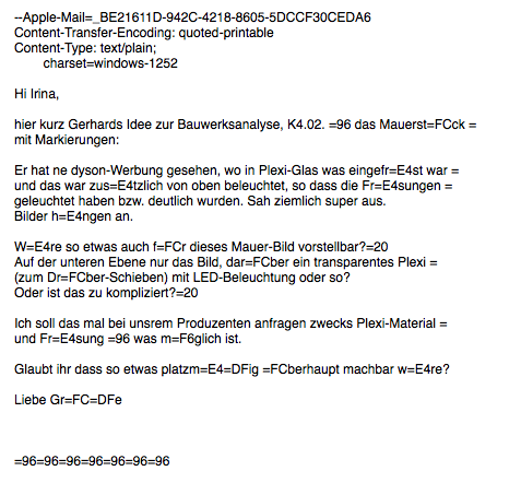 image about Quoted Printable Decoding identified as Encoding Condition Apple Send - Apple Regional