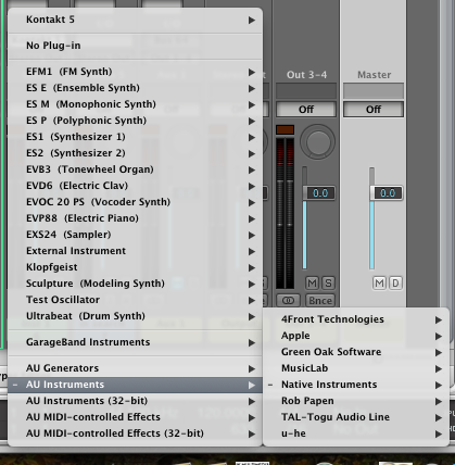 plugins not showing up in logic 9 - Apple Community