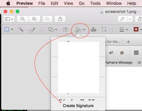 Signature pad for Mac OS X - Apple Community