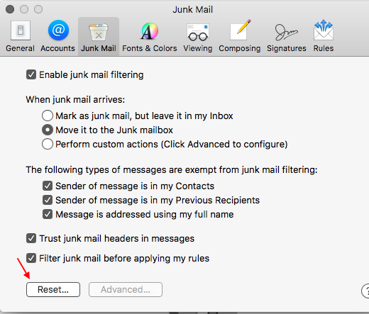 Messages Going to Junk Mail Even Though J… - Apple Community