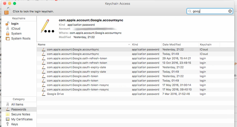 Where are internet account passwords stor… - Apple Community