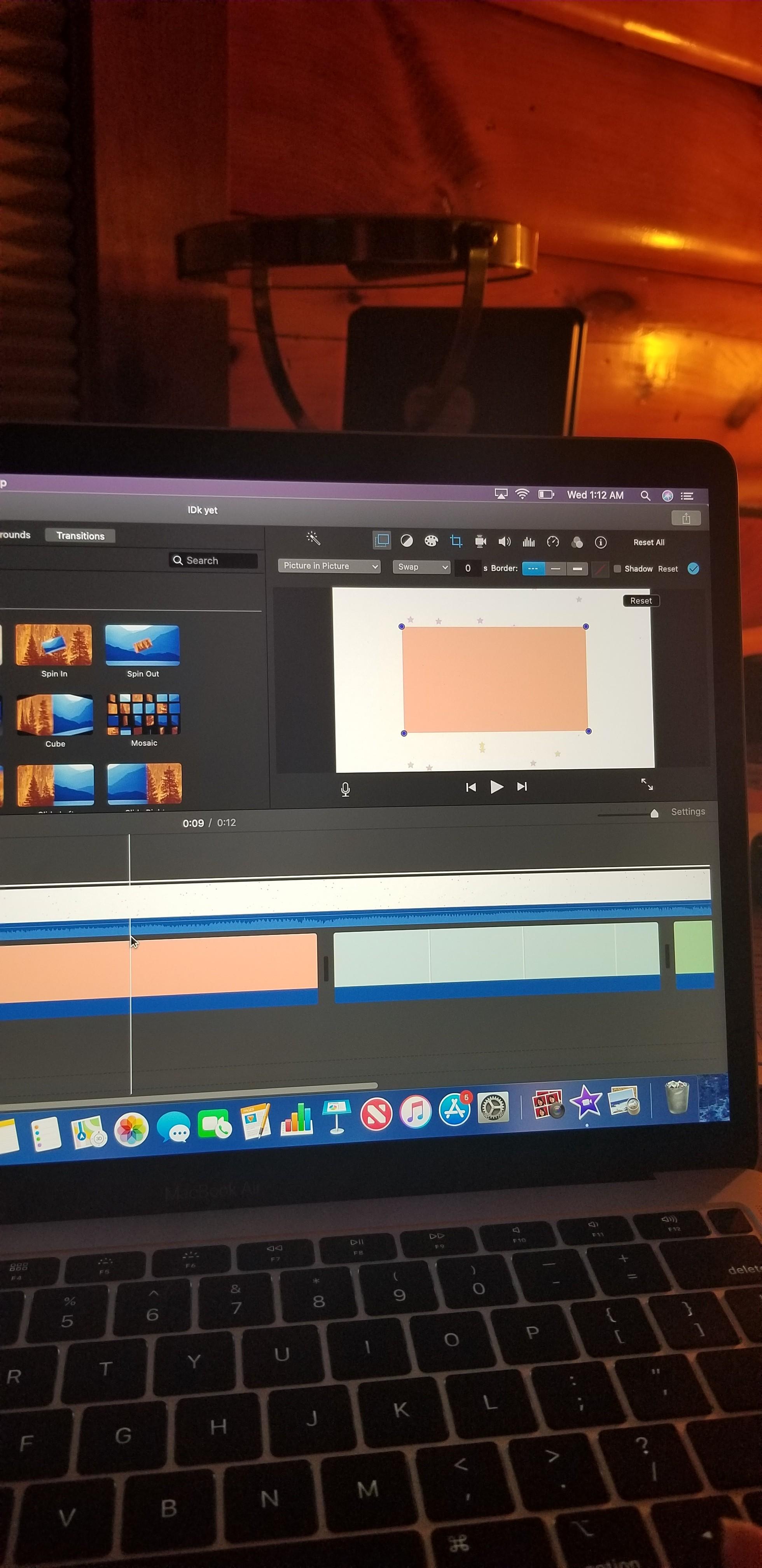Please help! Problem With swap on IMovie - Apple Community