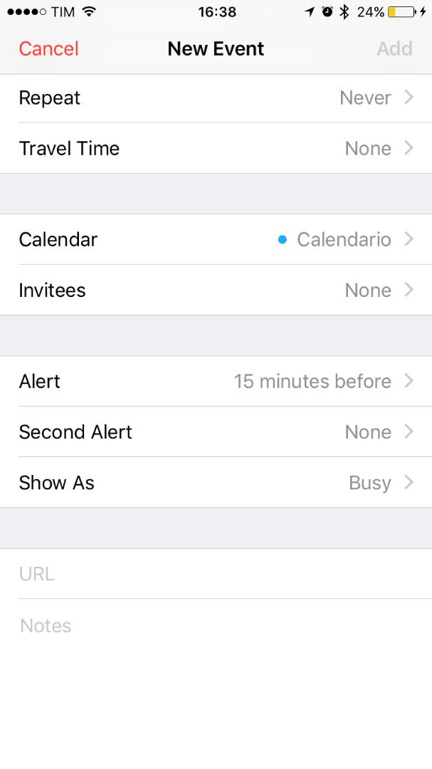 Calendar Second Alert - Apple Community