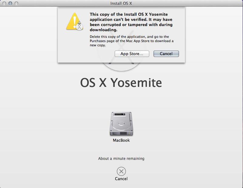 OS X Yosemite 10 10 DMG File Corrupted  - Apple Community