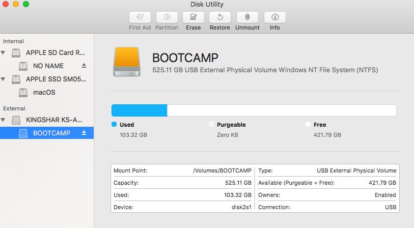 External USB don't show on boot - Apple Community