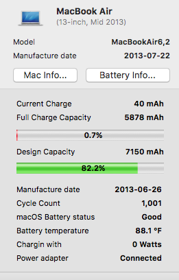 Macbook air battery not charging even aft… - Apple Community