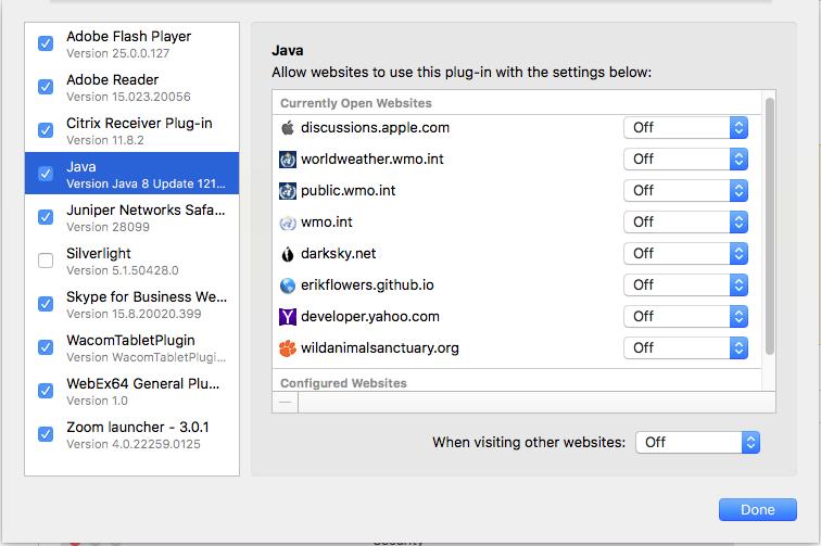 Java updates? - Apple Community