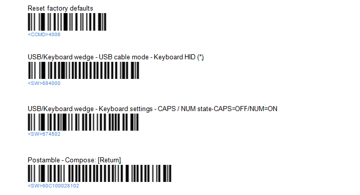 Laser Barcode Scanners on a Mac - Apple Community