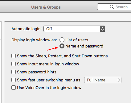 macbook pro asking for name and password … - Apple Community