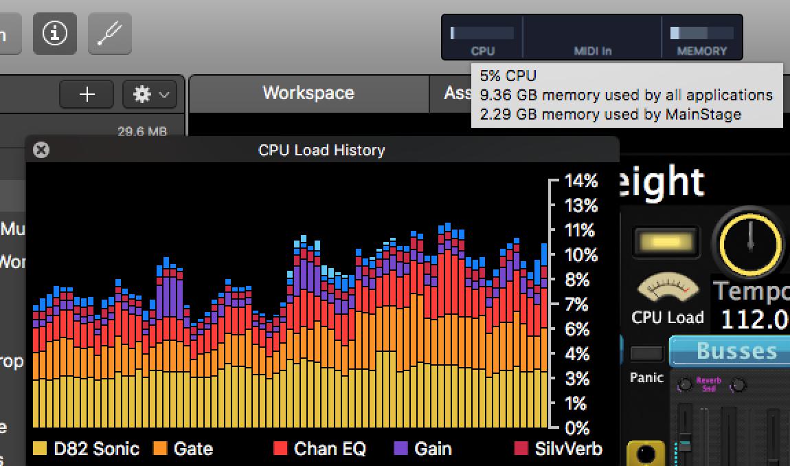 MainStage 3 3 Upgrade CPU Meter - Apple Community