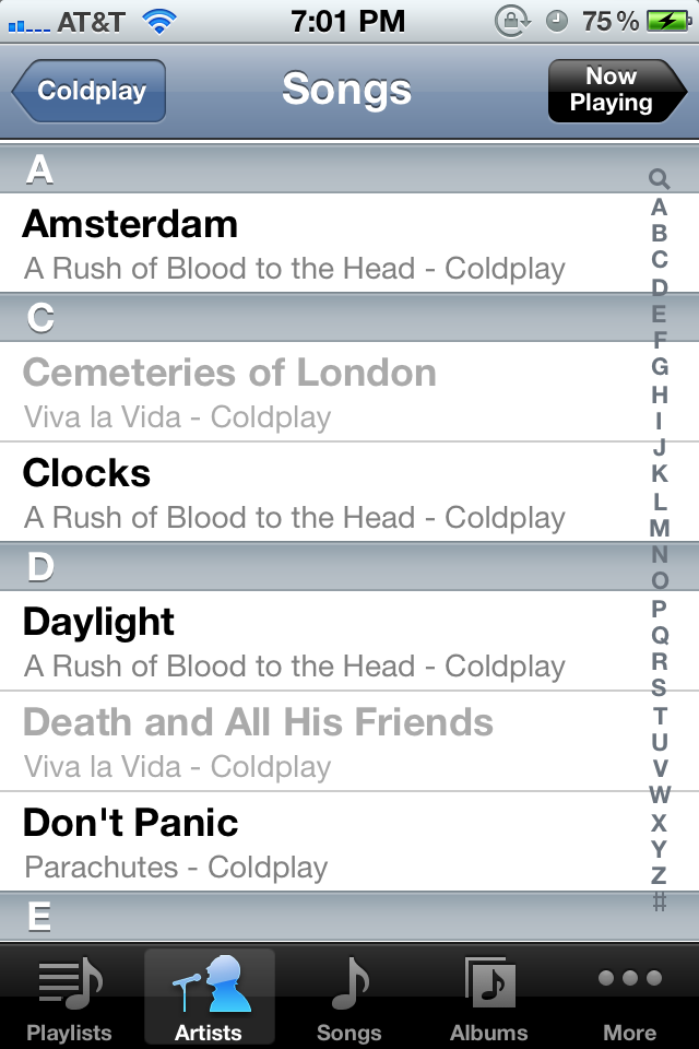 iPhone Songs Greyed Out - Won't Delete - Apple Community