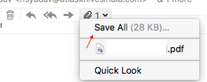 Why doesn't the attachment icon show … - Apple Community