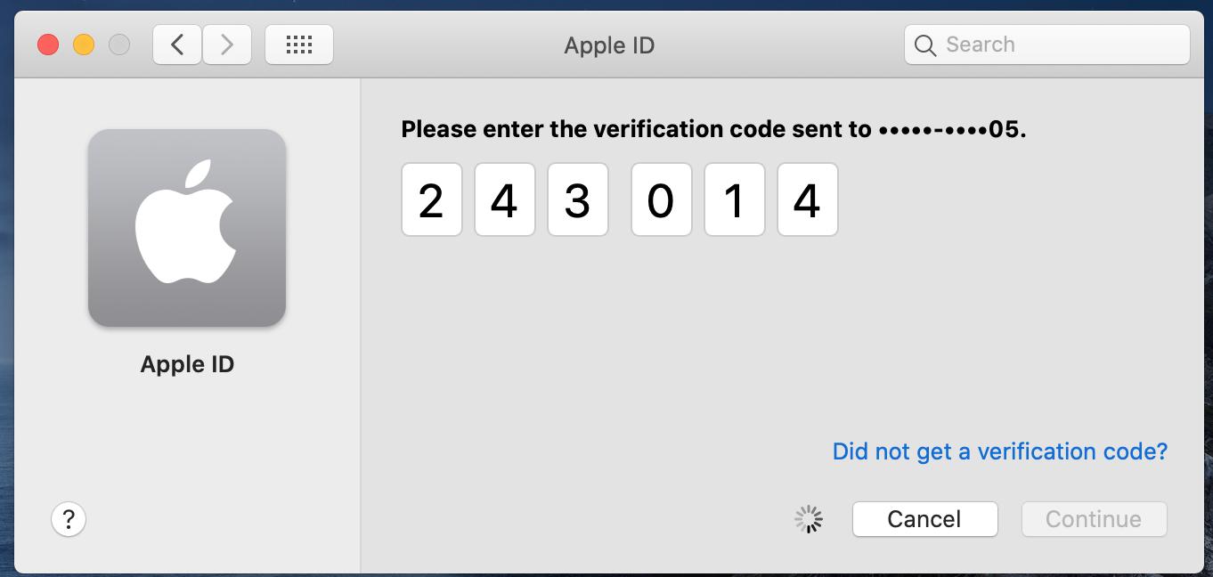 Apple ID Login Stuck at Verification Code…   Apple Community