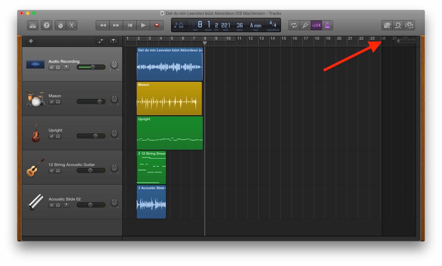 Garageband Song Length Apple Community