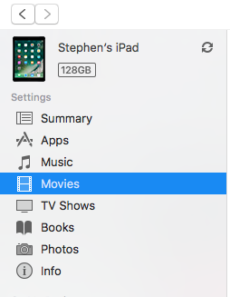 deleting movies in Sync Movies list in iT… - Apple Community