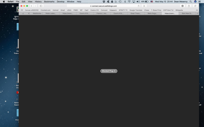 blocked plugin on mac pro