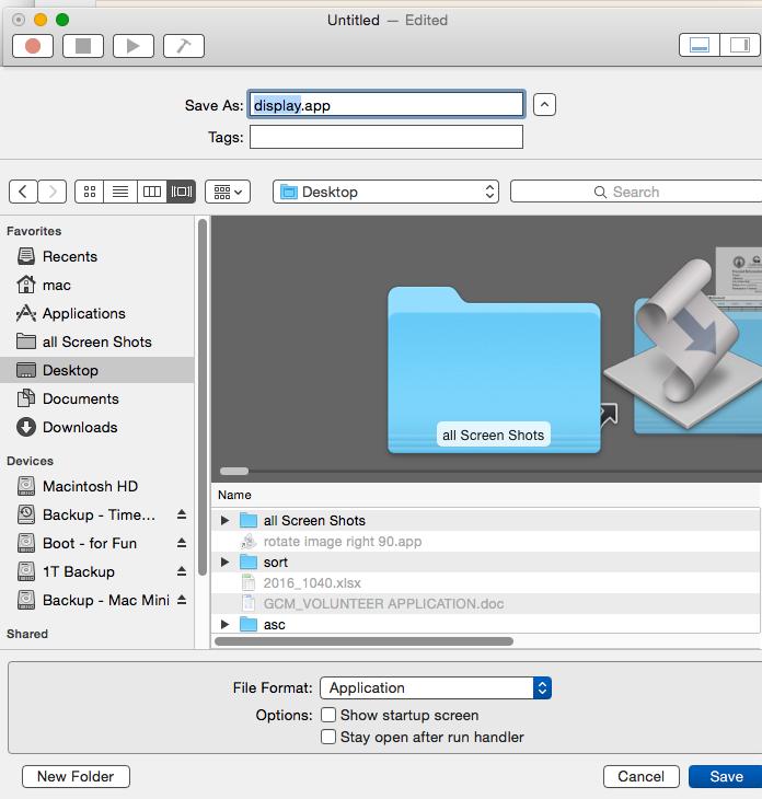 Running apple scripts on terminal - Apple Community