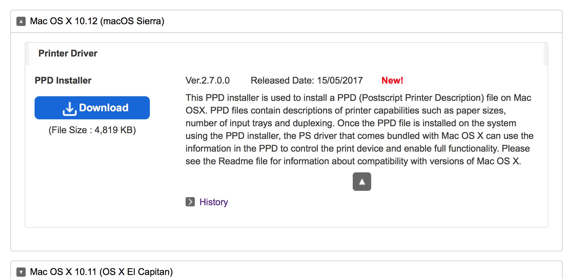 Ricoh MP C4503sp printer driver - Apple Community