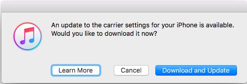 Update to Carrier Settings Error - Apple Community
