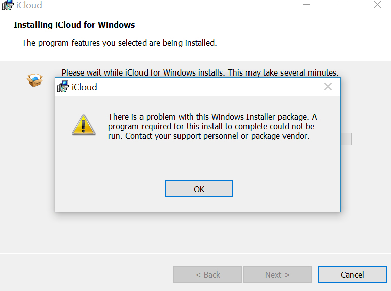 can't install icloud on Windows 10 ma… - Apple Community